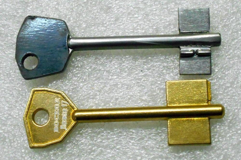 Как сделать ключ без ключа 17