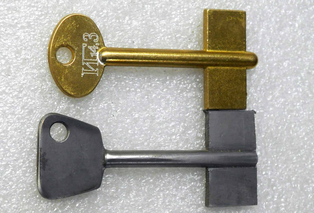 Как сделать ключ без ключа 239