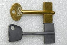 Как сделать по замку ключ
